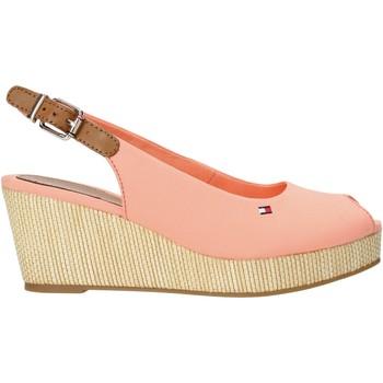 kengät Naiset Sandaalit ja avokkaat Tommy Hilfiger FW0FW04788 Vaaleanpunainen