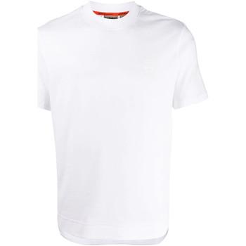 vaatteet Miehet Lyhythihainen t-paita Napapijri NP0A4E8F Valkoinen