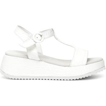 kengät Naiset Sandaalit ja avokkaat Café Noir HB950 Valkoinen