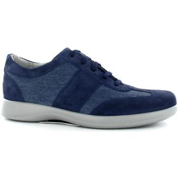 kengät Miehet Matalavartiset tennarit Stonefly 108522 Sininen
