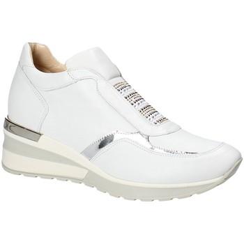 kengät Naiset Matalavartiset tennarit Exton E07 Valkoinen