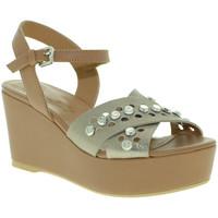 kengät Naiset Sandaalit ja avokkaat Mally 6237 Ruskea