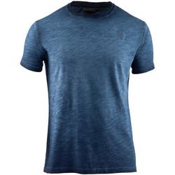 vaatteet Miehet Lyhythihainen t-paita Lumberjack CM60343 004 517 Sininen