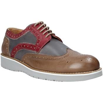 kengät Miehet Derby-kengät Exton 5105 Ruskea