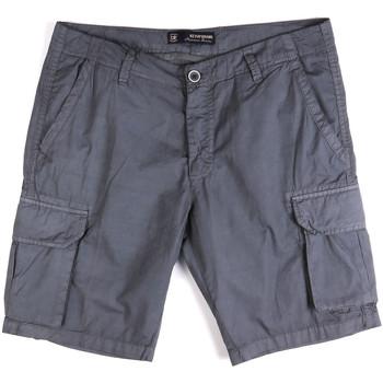 vaatteet Miehet Shortsit / Bermuda-shortsit Key Up 2P16A 0001 Sininen