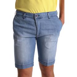 vaatteet Miehet Shortsit / Bermuda-shortsit Sei3sei PZV132 7118 Sininen