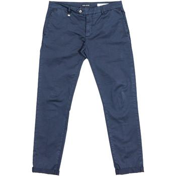 vaatteet Miehet Chino-housut / Porkkanahousut Antony Morato MMTR00387 FA800060 Sininen