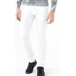 vaatteet Miehet 5-taskuiset housut Antony Morato MMTR00372 FA800060 Valkoinen