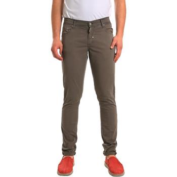 vaatteet Miehet 5-taskuiset housut Antony Morato MMTR00372 FA800060 Vihreä