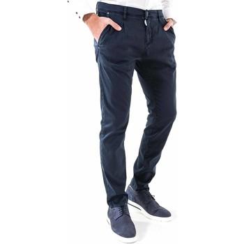 vaatteet Miehet Chino-housut / Porkkanahousut Antony Morato MMTR00378 FA800077 Sininen