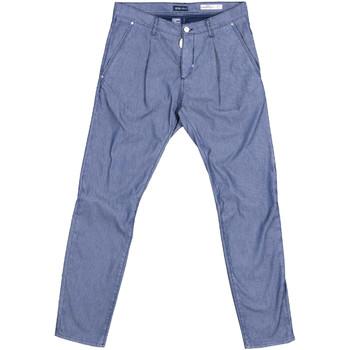 vaatteet Miehet Chino-housut / Porkkanahousut Antony Morato MMTR00378 FA850155 Sininen