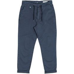vaatteet Miehet Chino-housut / Porkkanahousut Antony Morato MMTR00379 FA800060 Sininen