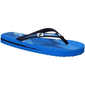kengät Miehet Varvassandaalit Lotto T4761 Sininen