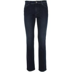 vaatteet Miehet Slim-farkut NeroGiardini P870110U Sininen