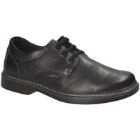 kengät Miehet Derby-kengät Enval 1202700 Musta
