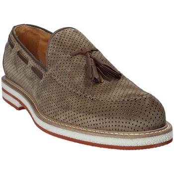 kengät Miehet Mokkasiinit Exton 675 Ruskea