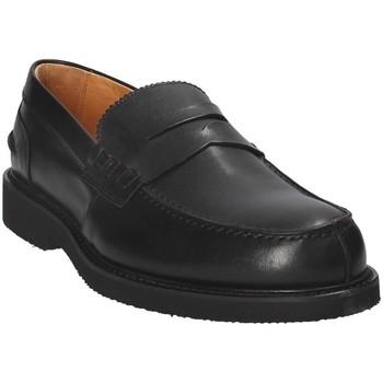 kengät Miehet Mokkasiinit Exton 9102 Musta