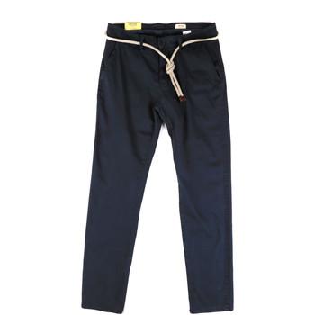vaatteet Miehet Chino-housut / Porkkanahousut Impure ALEX-215 Sininen