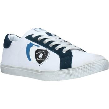 kengät Miehet Matalavartiset tennarit Beverly Hills Polo Club BH-3011 Valkoinen