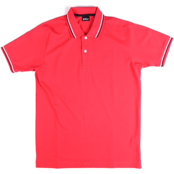 vaatteet Miehet Lyhythihainen poolopaita Key Up 2Q70G 0001 Vaaleanpunainen