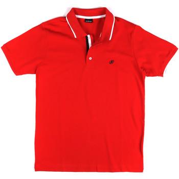 vaatteet Miehet Lyhythihainen poolopaita Key Up 2Q711 0001 Punainen