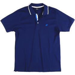 vaatteet Miehet Lyhythihainen poolopaita Key Up 2Q711 0001 Sininen