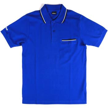 vaatteet Miehet Lyhythihainen poolopaita Key Up 2Q827 0001 Sininen