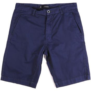 vaatteet Miehet Shortsit / Bermuda-shortsit Key Up 2A01P 0001 Sininen