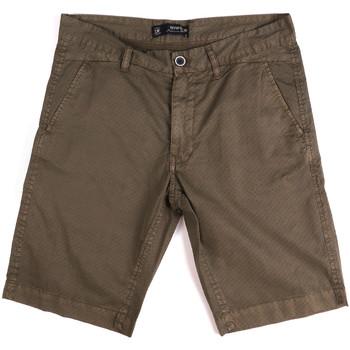 vaatteet Miehet Shortsit / Bermuda-shortsit Key Up 2A01P 0001 Ruskea