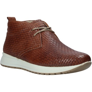kengät Miehet Korkeavartiset tennarit IgI&CO 1120 Ruskea