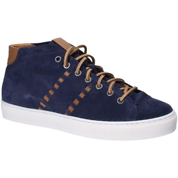 kengät Miehet Korkeavartiset tennarit Exton 476 Sininen