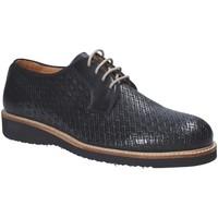 kengät Miehet Derby-kengät Exton 886 Musta