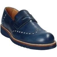 kengät Miehet Mokkasiinit Exton 885 Sininen
