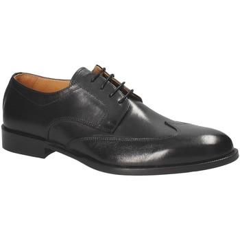 kengät Miehet Derby-kengät Exton 1372 Musta