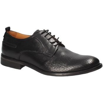 kengät Miehet Derby-kengät Exton 9430 Musta