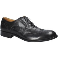 kengät Miehet Derby-kengät Exton 5352 Musta