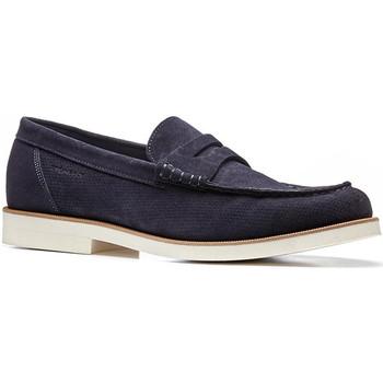 kengät Miehet Mokkasiinit Stonefly 110777 Sininen