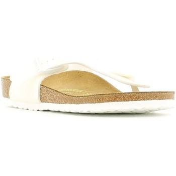 kengät Lapset Varvassandaalit Birkenstock 847223 Valkoinen