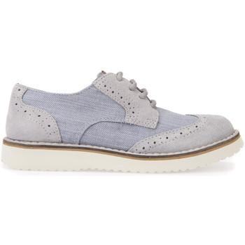 kengät Lapset Derby-kengät Geox J826UA 01022 Harmaa