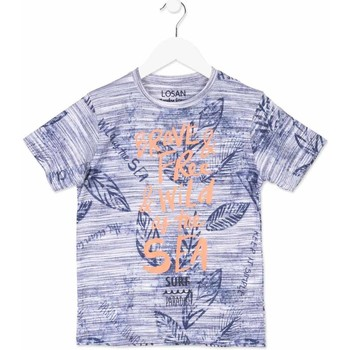 vaatteet Lapset Lyhythihainen t-paita Losan 813-1023AA Sininen