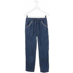 vaatteet Tytöt Suorat farkut Losan 814-9005AB Sininen