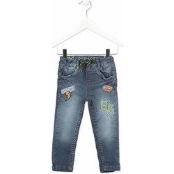vaatteet Lapset Slim-farkut Losan 815-6019AC Harmaa