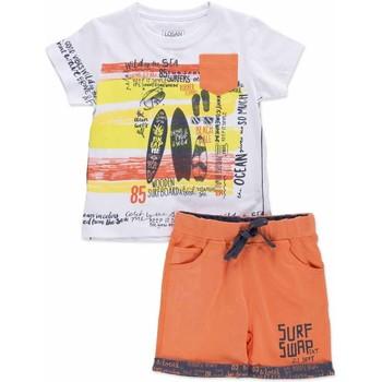 vaatteet Lapset Kokonaisuus Losan 815-8027AC Harmaa