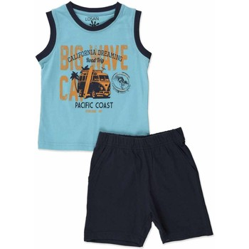 vaatteet Pojat Kokonaisuus Losan 815-8640AC Sininen