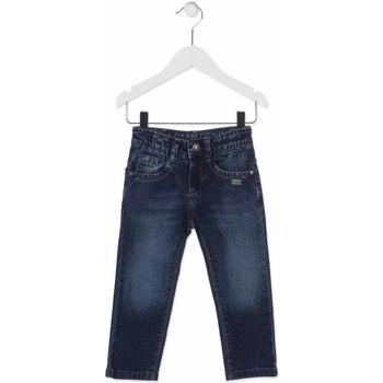 vaatteet Lapset Slim-farkut Losan 815-9014AC Sininen