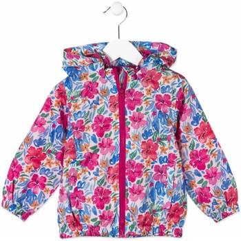 vaatteet Lapset Tuulitakit Losan 816-2004AD Vaaleanpunainen