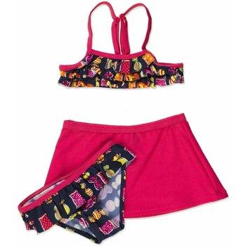 vaatteet Tytöt Kaksiosainen uimapuku Losan 816-4011AD Vaaleanpunainen