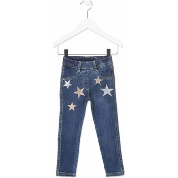 vaatteet Lapset Slim-farkut Losan 816-6013AD Sininen