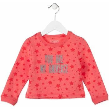 vaatteet Lapset Svetari Losan 816-6023AD Vaaleanpunainen