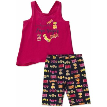 vaatteet Tytöt Kokonaisuus Losan 816-8044AD Vaaleanpunainen